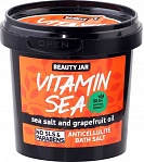 "Beauty Jar  vannas sāls Anti-celulīta ""VITAMIN SEA"" , 200g"