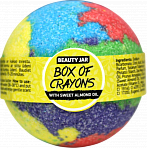 Beauty Jar BOX OF CRAYONS burbuļ bumba, 150g