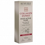 "Collagen expert REVUELE ""Collagen expert"" Multiaktīvs fluīds sejai, 25ml"