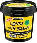 Beauty Jar BLONDE WITH BRAINS - šampūns blondīnēm, 150g